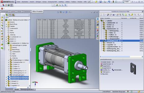 In SolidWorks Enterprise PDM 2009 wurde die Stücklisten-Funktionalität erheblich verbessert. Damit ist ein effizienterer und flexiblerer Einsatz der PDM-Lösung über den reinen Konstruktionsbereich hinausmöglich