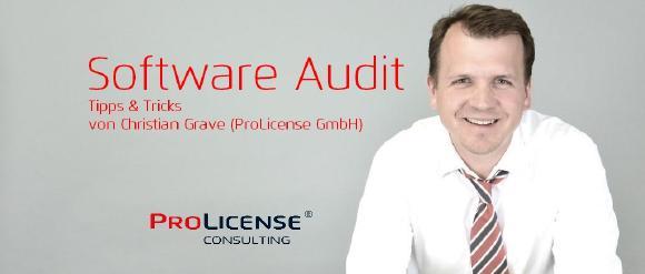 Software Audit - Tipps & Tricks von Christian Grave
