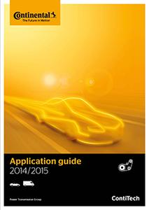The ContiTech Power Transmission Group's 2014/2015 Application Guide can be ordered with immediate effect. Photo: ContiTech