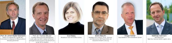 Die fachkundige Jury des Night Star Express Wissenschaftspreises 2013