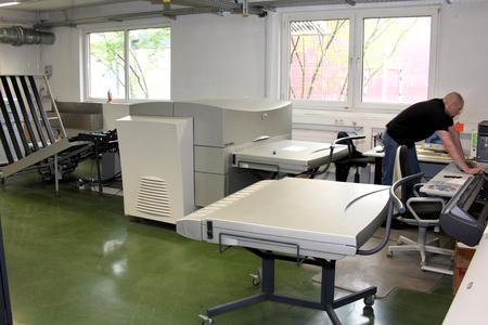 Schon vor zwei Jahren hat ICS die Plattenentwicklungsmaschine und Verarbeitungschemie aus der Druckformherstellung verbannt