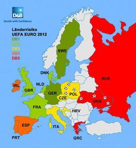 Euro 2012 Karte
