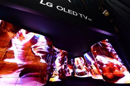 LG OLED Canyon CES 2018