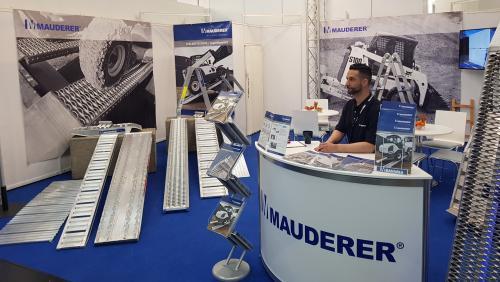 Messestand Mauderer Alutechnik GmbH