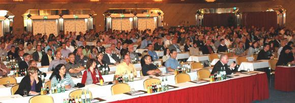 Mehr als 500 Teilnehmer nutzten die Informationsangebote auf der 32. Anwendertagung der Schleupen AG