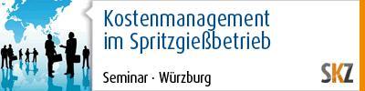 Kostenmanagement im Spritzgießbetrieb