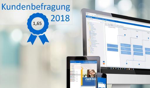 Bei der Kundenumfrage 2018 erzielte die Rossmanith GmbH top Ergebnisse.