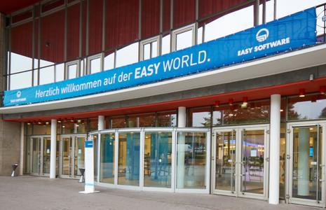 Auch in diesem Jahr fand die EASY WORLD in der Stadthalle Mülheim statt. Foto: EASY SOFTWARE AG/Alexander Maier