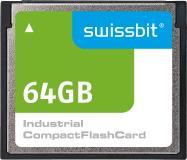 Im Consumer-Bereich obsolet, im industriellen Umfeld noch dringend gesucht und von Swissbit mit der C5x-Serie geliefert: CompactFlash™ /  Bildquelle: Swissbit