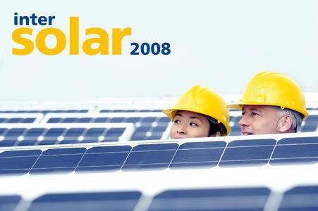 Intersolar 2008 eröffnet!