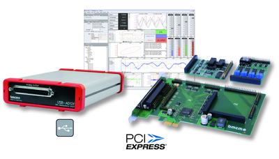Messsysteme für USB und PCIe von bmcm