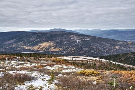 Im Gebiet von Keno Hill (Yukon); Foto: Metallic Minerals