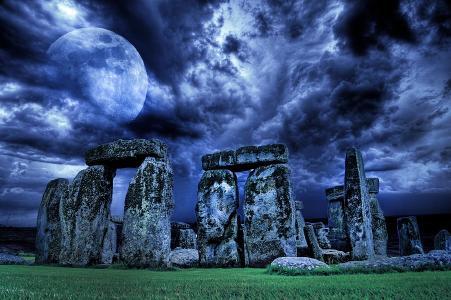 Stonehenge - das sagenumwobene heidnische Heiligtum Englands