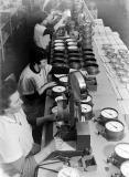 In der deutschlandweiten Aufbruchsstimmung der 1950er Jahre beginnt mit Franz und Georg Fritz der Neuaufbau der Firma in Kleingartach und Güglingen/Württemberg.