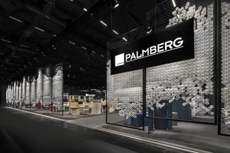 Palmberg Messestand, Messe Orgatec, Köln, Messebau ISINGERMERZ