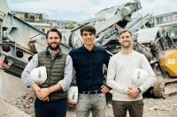 klarx Gründer Matthias Handschuh, Vincent Koch und Florian Handschuh