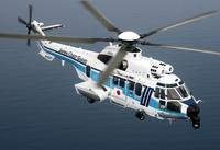 A picture of an EC225 in flight, Ref. IMG-4713, © Copyright Nobuo Oyama