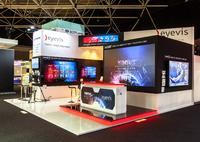 eyevis wows IBC 2015 with Industry-Leading Products – Including the slimmest Cube Wall on the market