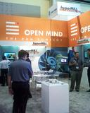 OPEN MIND booth at IMTS in Chicago, Image source: OPEN MIND
