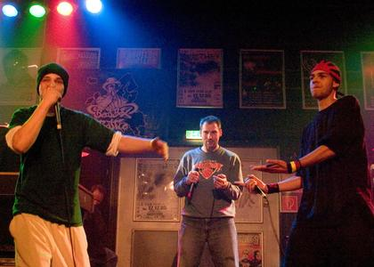 Beatboxers on Stage