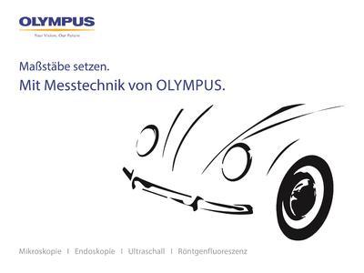 Maßstäbe setzen: Olympus stellt umfangreiches Angebot für die Messtechnik und Qualitätssicherung vor