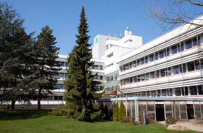 Standort des IOSB in der Karlsruher Oststadt. © Fraunhofer IITB 2009