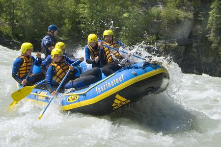 Rafting beim Fun Adventure Race