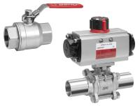 GEMÜ ball valves for industrial applications