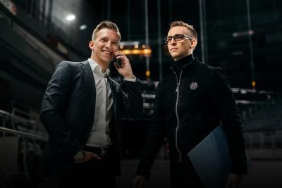 v.l.: Die Geschäftsführer Markus und Andreas Baulig