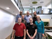 Das Ökoprofit-Team bei Weicon