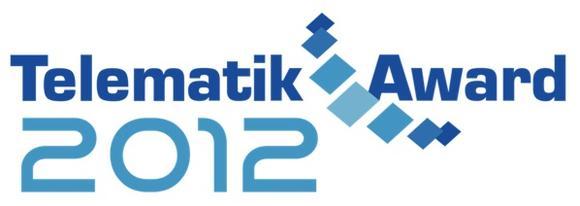 Das offizielle Logo des Telematik Awards 2012