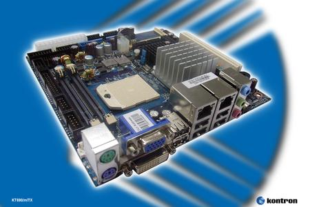 Kontron Mini-ITX Motherboard Features Latest AMD CPUs and Chipsets