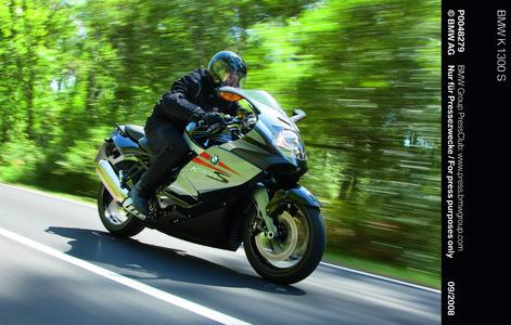 The K1300 S took four RiDER Power awards including Best Bike of 2010