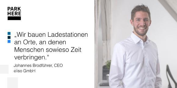 eliso CEO Johannes Brodführer im Interview