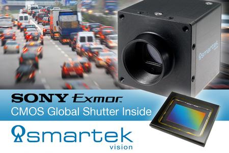 """Fig. 2: SMARTEK Vision's Giganetix Plus GC1931 with SONY IMX174 CMOS Global Shutter sensor will be presented within the campaign """"TrafficVision"""""""
