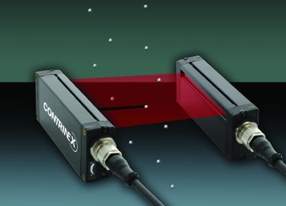 Zwei neue – schaltende und messende – Lichtgitter-Baureihen von Contrinex eignen sich für die Anwesenheitserkennung und Dimensionskontrolle