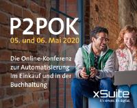 """Virtuelle Veranstaltung """"P2POK"""" der xSuite Group für Einkauf und Buchhaltung / Bild: xSuite Group"""