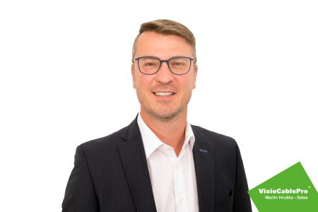 Martin Hruška – New sales manager for the VisioCablePro® brand