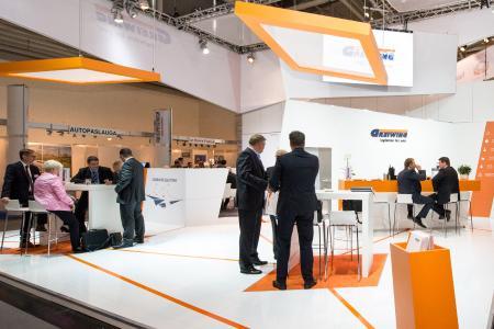 Auf der transport logistic in München präsentiert GREIWING an seinem Stand sämtliche Leistungsbereiche / Foto: GREIWING