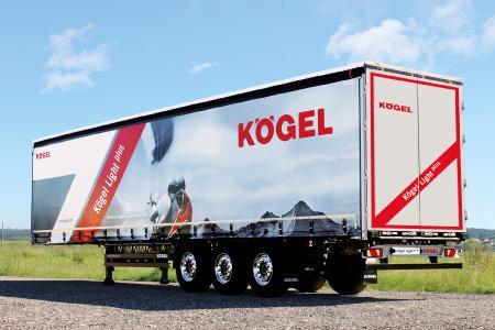 The IAA product innovation, Kögel Light plus