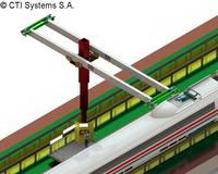 Maintenance of rolling stock fleet with CTI teleplatform