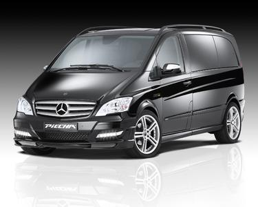JMS present boykits for Mercedes Viano/Vito Facelift from Piecha Design