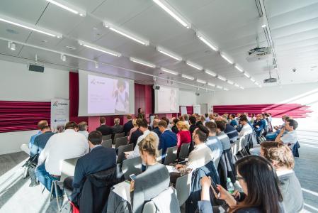 IIT 2018 München: Mehr als 80 Teilnehmer starteten um 10 Uhr in den InLoox Insider Tag 2018 in München.