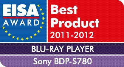 EISA AWARD Blu ray Player BDP S780 von Sony