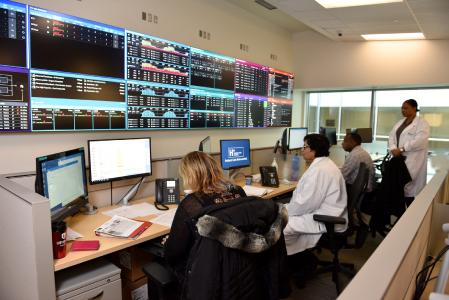 GE Healthcare Command Centre im Humber River Medical Center, Toronto (Kanada)