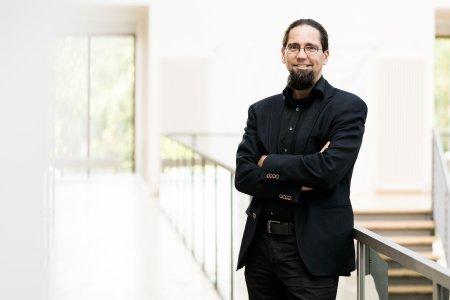Prof. Dr. Johannes Gulden, der Leiter des IRES an der Hochschule Stralsund