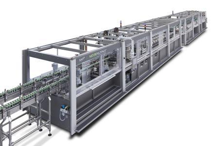 La máquina Innopack Nature MultiPack™ de KHS ahora también está disponible para el sector de alto rendimiento, con una producción de hasta 108.000 latas o botellas PET por hora