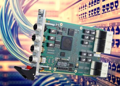 All-round Carefree Switch Package: High-Speed Gigabit Ethernet Switch with Extension Cards on CompactPCI Serial