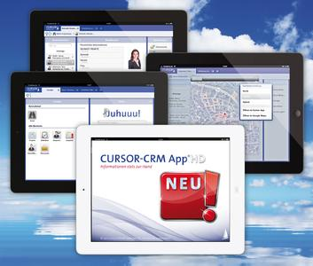 Die neue HD-App für CURSOR-CRM