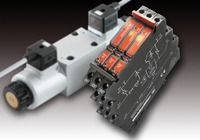 Weidmüller's solid-state relay MICROOPTO valve switch: switch amplifier for controlling inductive loads